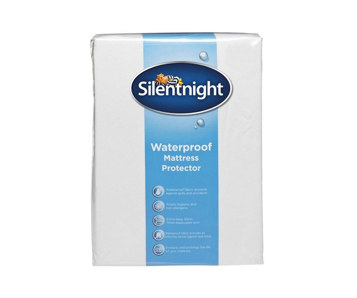 Silentnight Waterproof Mattress Protector, Single