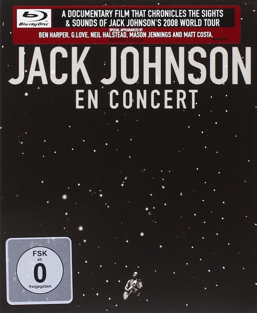 Blu-ray : Jack Johnson - En Concert