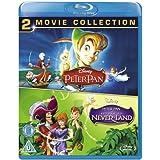 Peter Pan 1 & 2 [Blu-ray] [Region-Free] [UK Import]