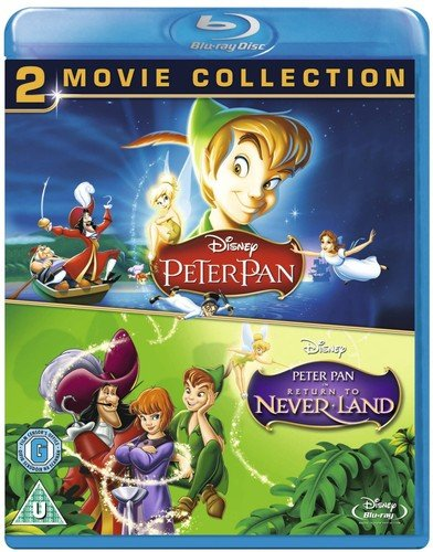 Peter Pan 1 & 2 [Blu-ray] [Region-Free] [UK Import] -