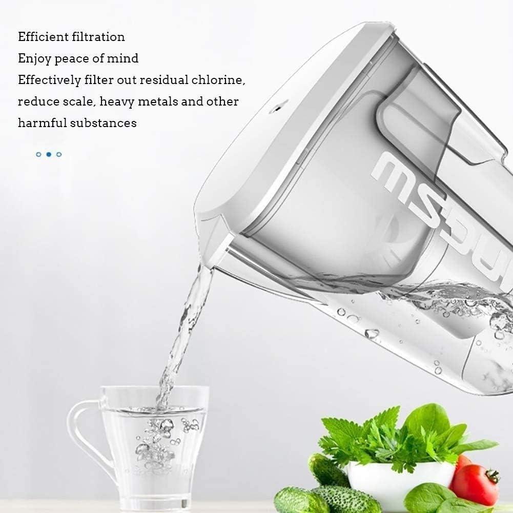 Jszzz Purificador de Agua portátil, tecnología de purificación Elimina el Cloro, Metales Sedimentos for Clean Cata ...