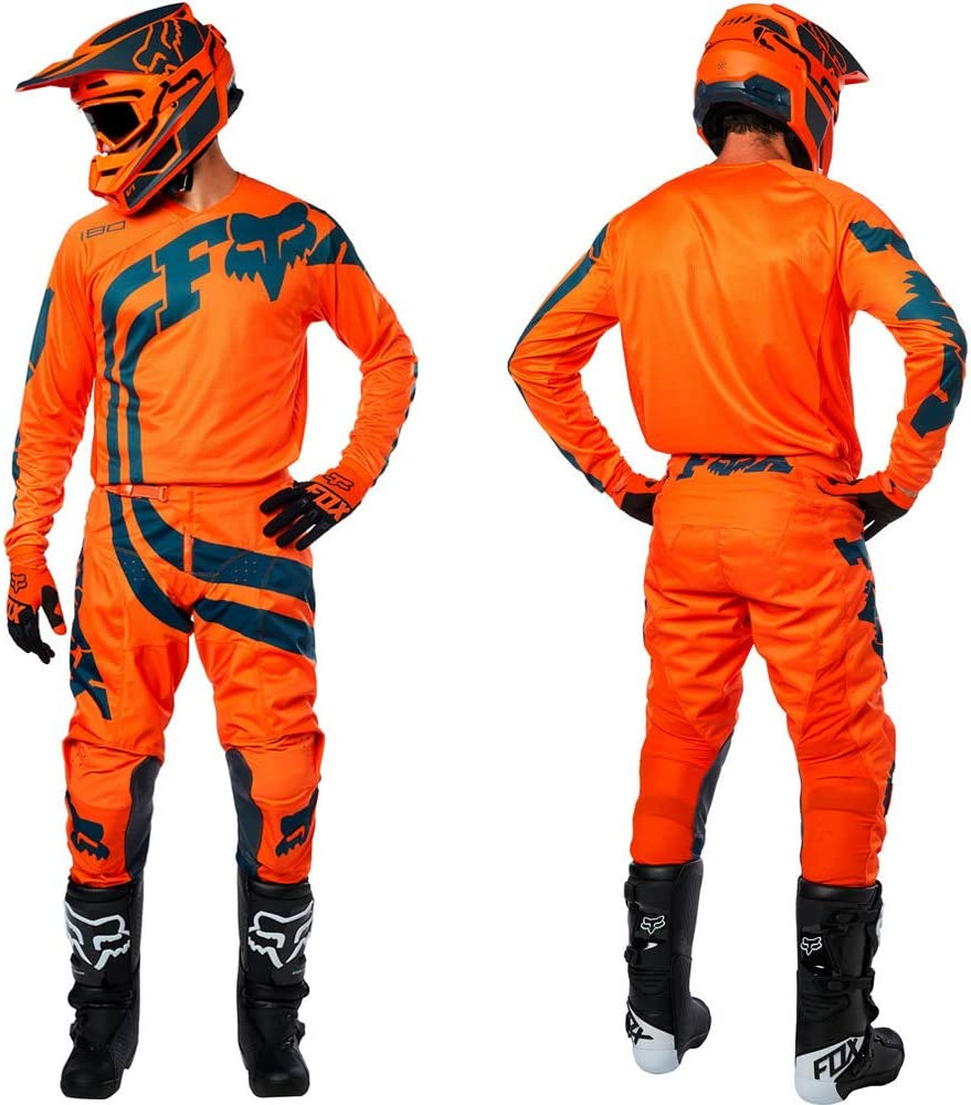 Cota Orange FOXHEAD Fox 180 Motocross Mx Pants Jersey
