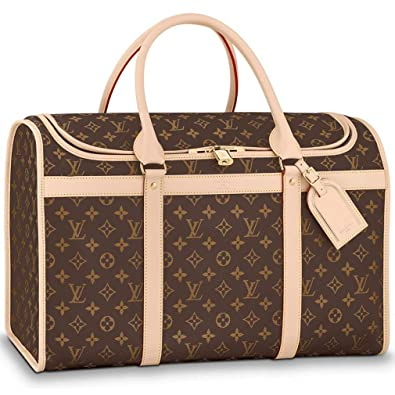 0dc08ea9de60 Louis Vuitton Monogram Canvas Dog Carrier 50 Bag Top Handles Article   M42021 Made in France  Handbags  Amazon.com