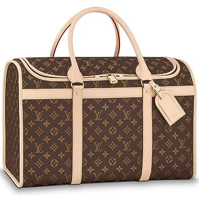 Louis Vuitton Monogram Canvas Dog Carrier 50 Bag Top Handles Article   M42021 Made in France  Handbags  Amazon.com 06d17629911c5