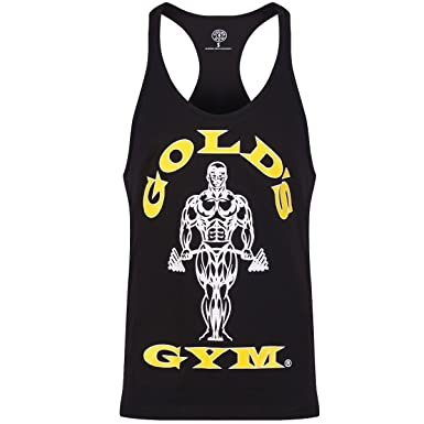 8bbb2e4d85935 Golds Gym String Mens Tank Top Work Out Racerback Y (Small