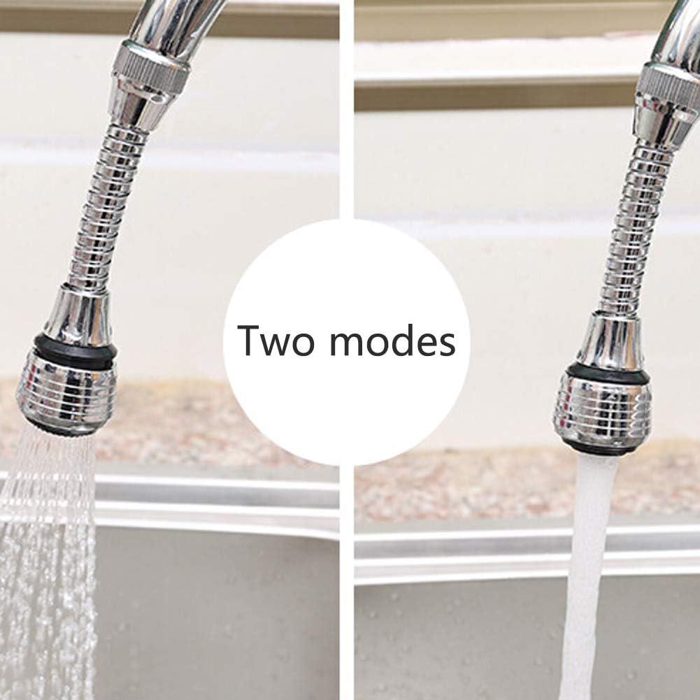 OPSLEA 360-grado Grifo de Agua de Ahorro de Dispositivo Anti-Splash Grifo y Adaptador para lavadero de Cocina y grifos de Bar