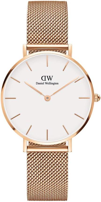 ejemplo de reloj para dama daniel wellington