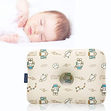 Premium Head Shaping Pillow Interstellar//Toddlers 6-24 Months Made in Korea Gio Pillow 3D Air Mesh Toddler Pillow Flat Head Syndrome Prevention