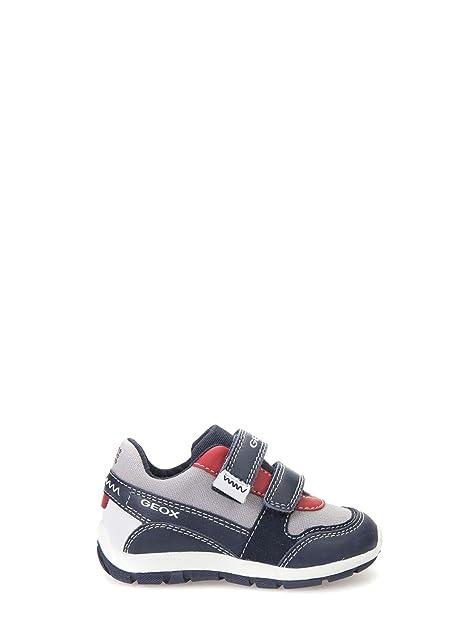 Dettagli su Geox scarpe da bambino primi passi per bimbo scarpa bambini sneakers con strappi