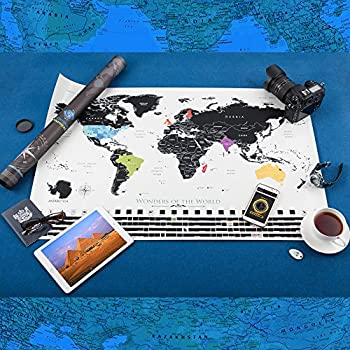 """World Scratch Off Map 