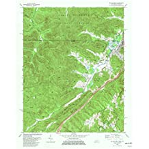 YellowMaps Jellico West TN topo map, 1:24000 scale, 7.5 X 7.5 Minute, Historical, 1979, updated 1980, 27.4 x 22 IN