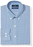 Buttoned Down Mens Slim Fit Pattern Non-Iron Dress Shirt (3 Collars Available)