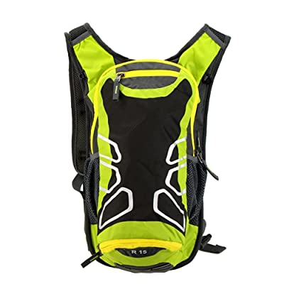 Ezyoutdoor 15L Ultralight Water-resistantCycling Shoulder Backpack for Outdoor Cycling Bike Riding Backpack Mountain Bicycle Travel Hiking Camping Running