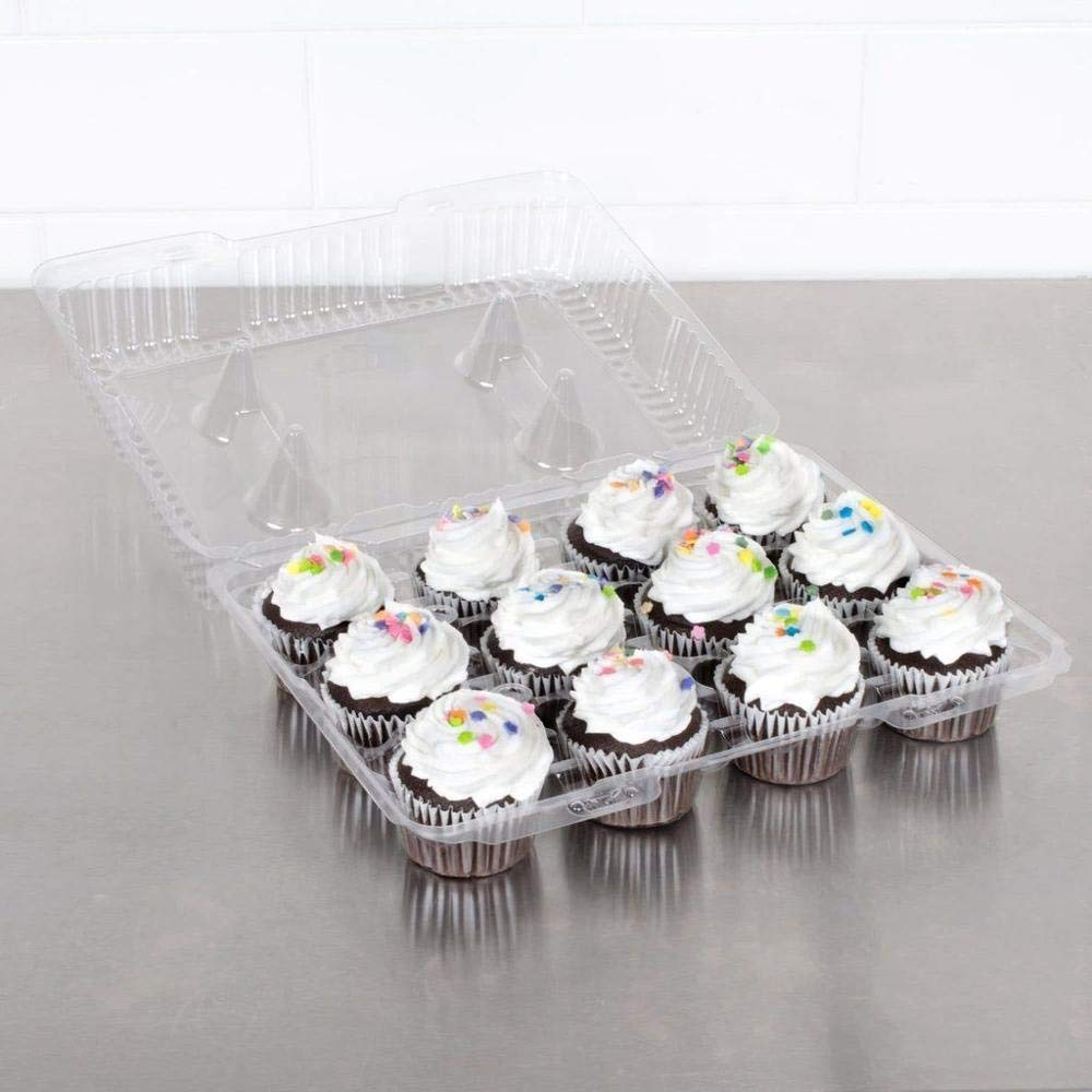 The Bakers Pantry Cupcake Boxes- Cupcake Containers 24 Pack Cupcake, Cupcake Box Container Holds 12 Cupcakes (24, 12-Compartment) by The Bakers Pantry (Image #8)