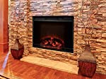 Touchstone 80016 Edgeline Electric Fireplace Insert for Mantles, 28 inch wide, 1500/750 Watt Heater (Black) from Touchstone Home Products, Inc.