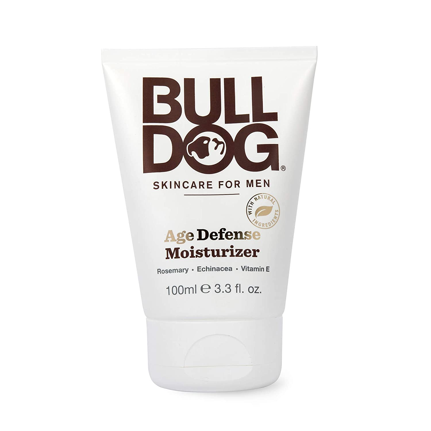 Bulldog Mens Skincare and Grooming Age Defense Moisturizer, 3.3 Ounce