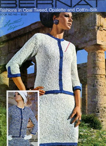 Bernat Fashions in Opal Tweed, Opalette and Cott'n-Silk Book No. 143 ()