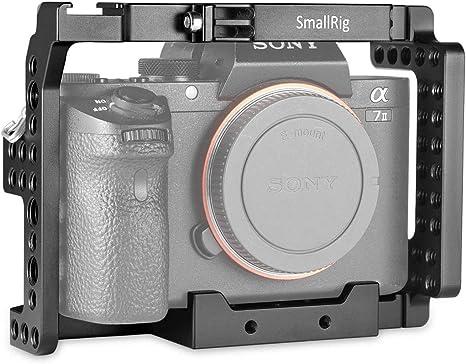SMALLRIG A7SII Cage Jaula para Sony A7II, A7RII, A7SII ILCE-7M2 ...