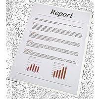 ESSELTE 18203 - Dossiers uñero PP piel de naranja 80 micras (bolsa de 100 ud.) DIN A4 color transparente