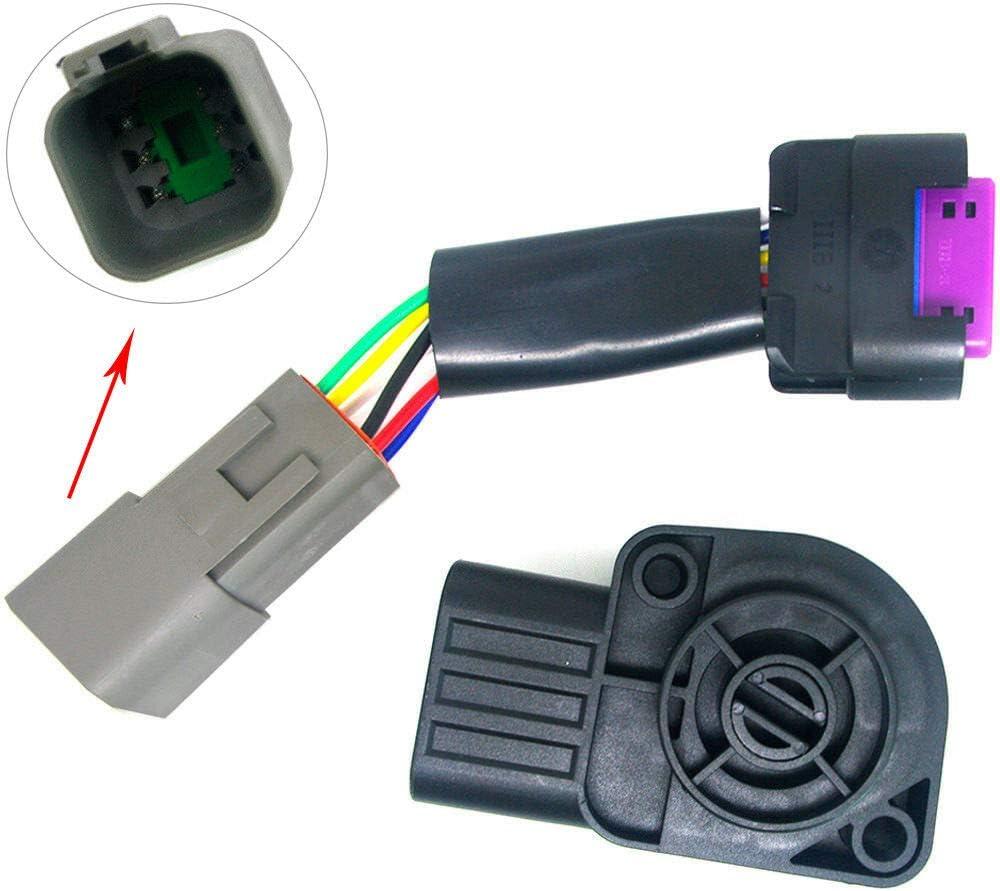 Throttle Position Sensor TPS APPS for 1998-2007 Dodge Ram 2500 3500 5.9L Diesel