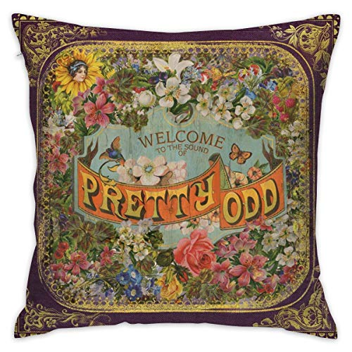Gltiosr Panic at The Disco Throw Pillow Cover Decorative Pillow Case Square Cushion Cover Home Decor ()