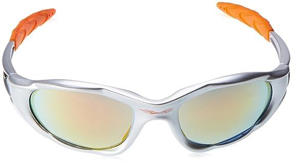 X-Loop Sonnenbrillen - Sport - Radfahren - Skifahren - Laufen - Motorradfahrer - Kajak - Klettern - Angeln / Mod. 1002 Grau Blau 791eAyex
