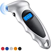 Semoic 0-25.4mm digital tire depth gauge tire pressure monitor for car and motorcycle