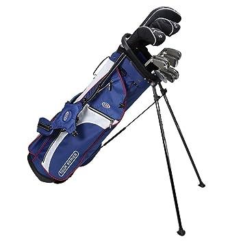 US kids Golf TS 63 Set Bolsa de Palos, Unisex niños, Azul ...