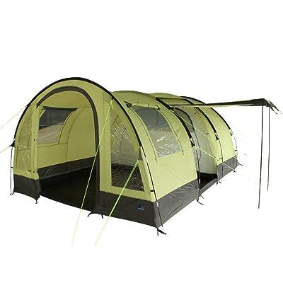 10T Devonport 5 - Tente tunnel 5 places avec une fenêtre panoramique, entrée + cabine intérieure séparable, 3000mm