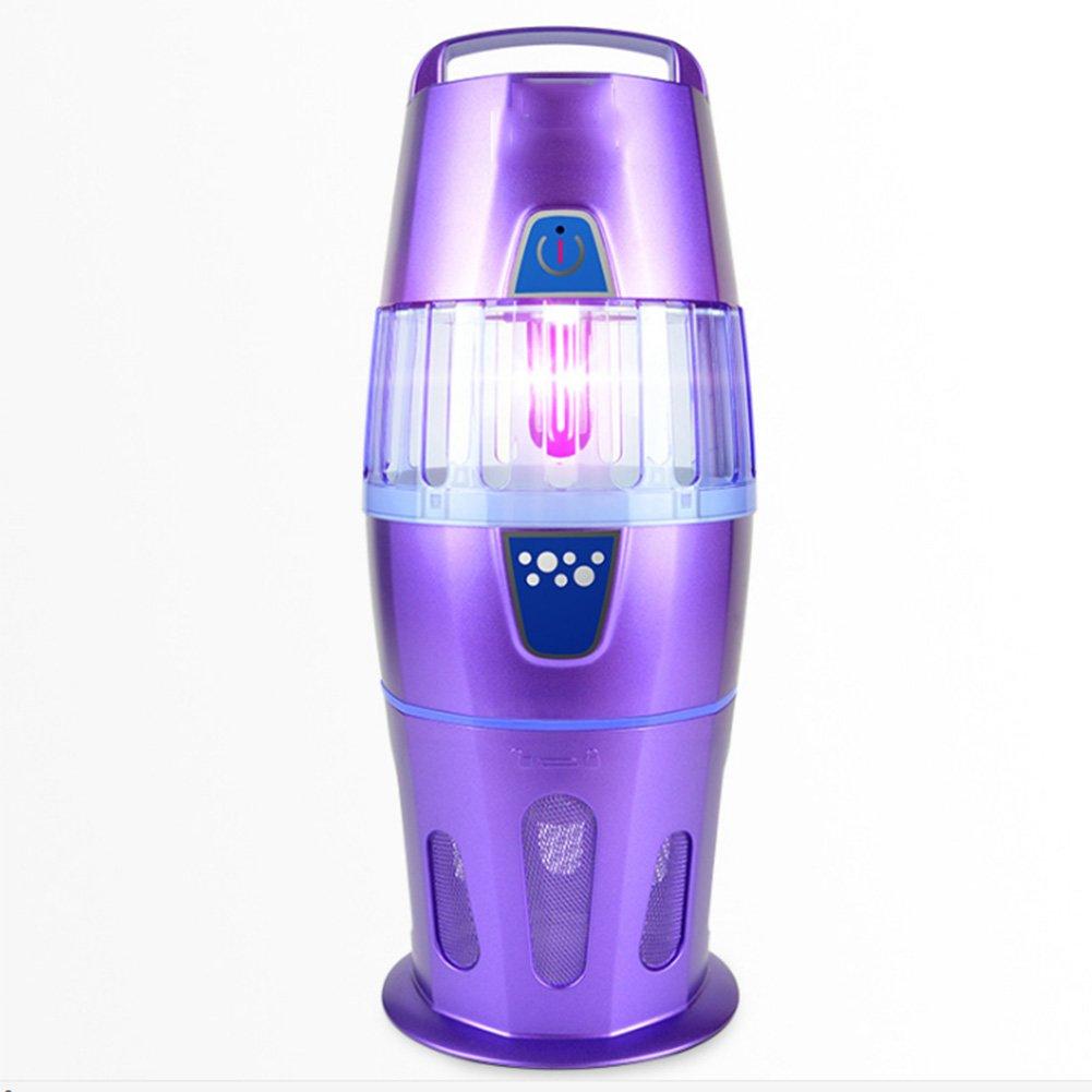 ソーラーモスキートキラーランプ家庭用電気ショックモスキートランプポータブル光触媒モスキートキラーアーティファクト ( Color : 紫の ) B07BMX3MQP 14887  紫の
