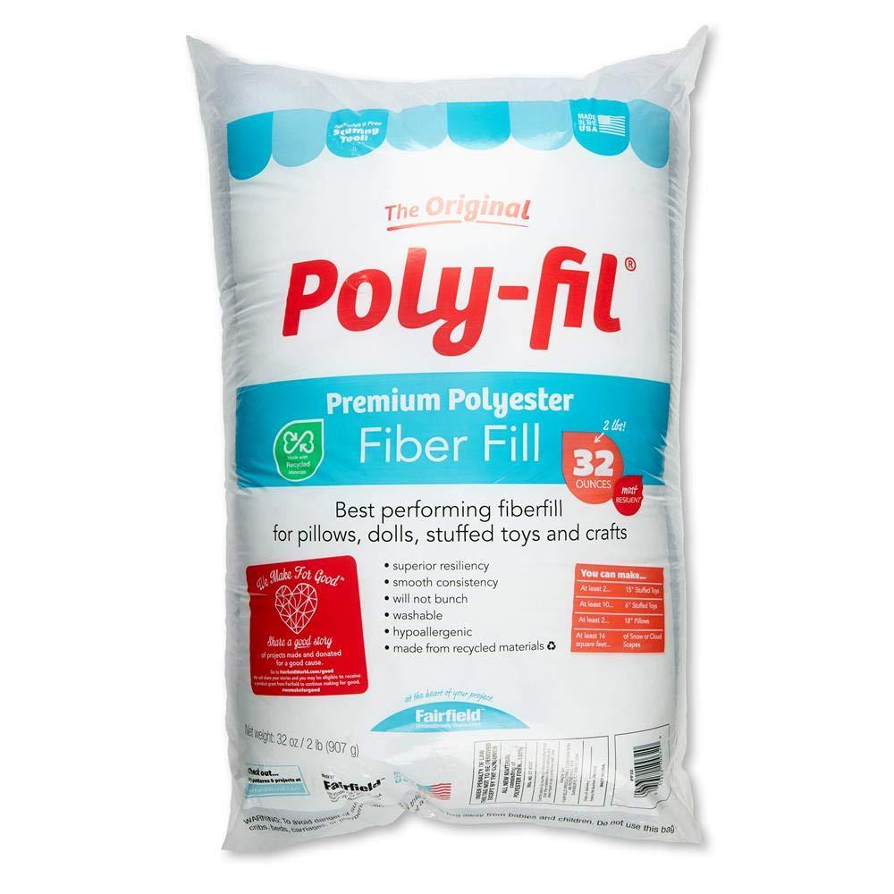 Fairfield Poly-Fil Original Fiberfill America's Favorite 32 oz. Bag Multi by Fairfield