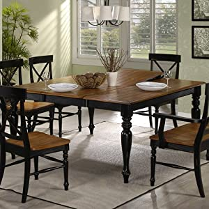 Emerald Home Gatlinburg Dining Table With 20 In. Butterfly Leaf