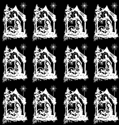 Fusible Decal - Nativity 1-1/16