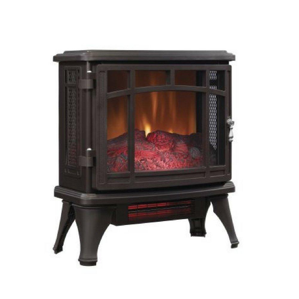 Duraflame Infrared Quartz Fireplace Stove, Bronze