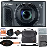 Canon PowerShot SX730 HS 20.3MP Digital Camera 40x Optical Zoom and Built-in WiFi/NFC (Basic Bundle, Black)