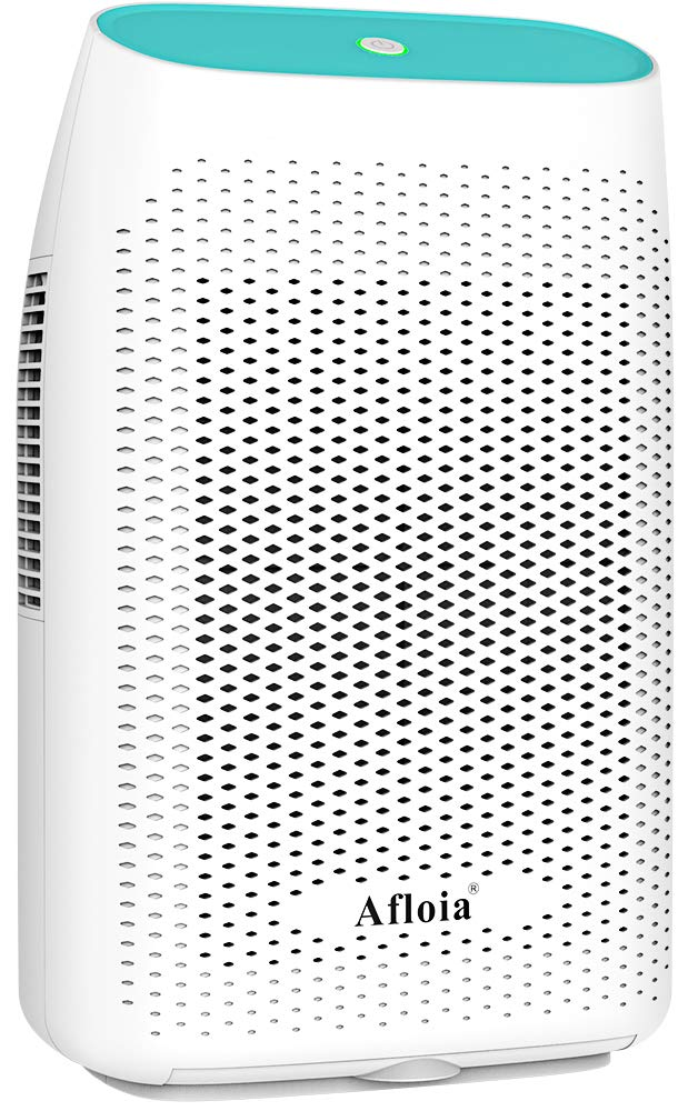 Afloia Electric Dehumidifier for Home Bathroom 2000ML(68 oz),Portable Dehumidifiers for Home 2201 Cubic Feet Space,Quiet Auto-Off Dehumidifiers for Bathroom,Kitchen,Bedroom,Basement,Bedroom,Closet by Afloia