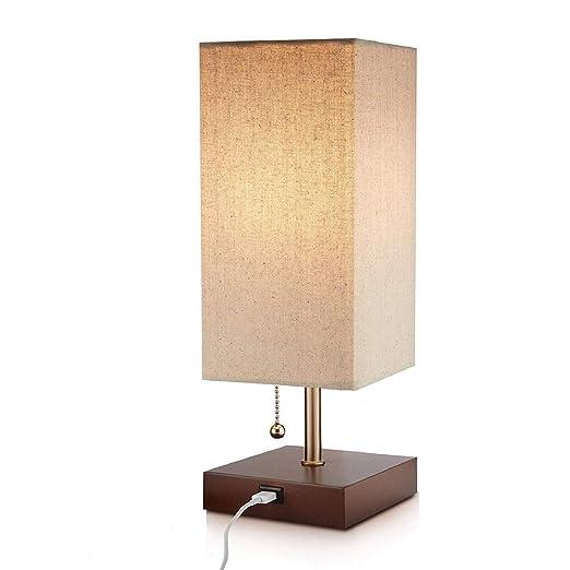 LYYJIAJU Lámpara de Mesa, Lifeholder lámpara, mesita de Noche ...