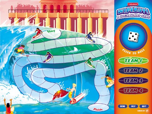 Wipeout! Interactive Vocabulary Game