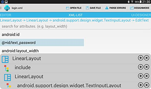 Amazon com: easyGUI - Android XML IDE: Appstore for Android