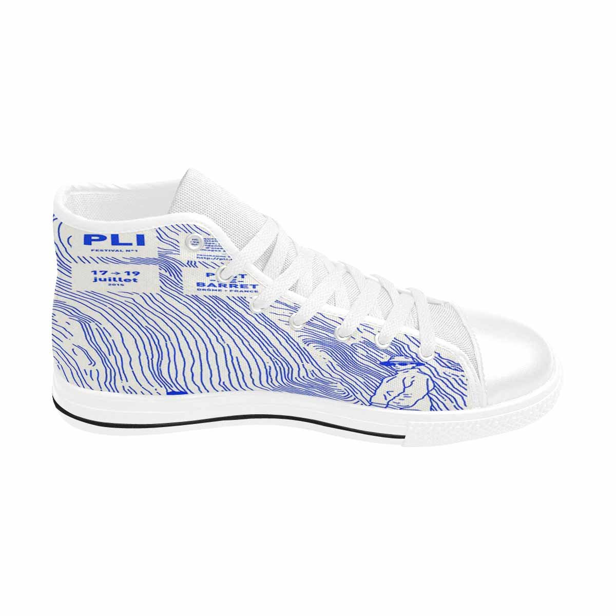 MingDe Sports Womens Classic Canvas Shoes Sneakers High Top Lace up Lightweight