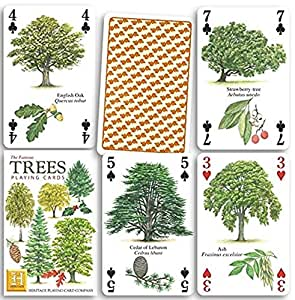 The Famous Trees Playing Cards