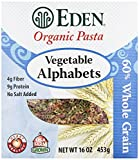 vegetable alphabet pasta - Eden Organic Pasta, Vegetable Alphabets, 16 oz
