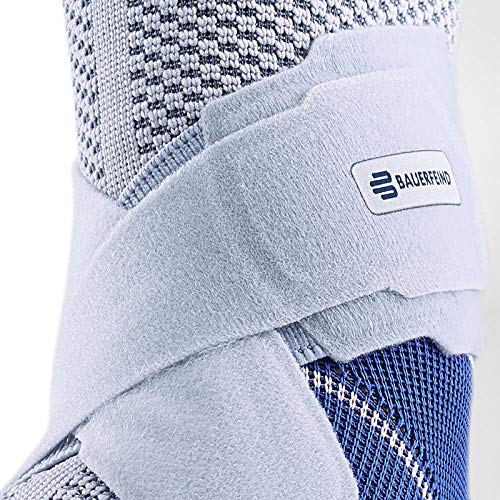 Bauerfeind - MalleoTrain S - Ankle Support - The Ankle Support You Need Doing Physical Activity - Left Foot - Size 4 - Color Titanium by Bauerfeind (Image #4)