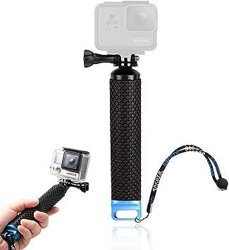 Mein HERZ 49 cm Palo Selfie Stick, Selfie Stick, Palo de Selfie Impermeable, Palo de Selfie Retráctil, Palo Selfie Gopro, para GoPro héroe 4/3 + / 3/2 ...