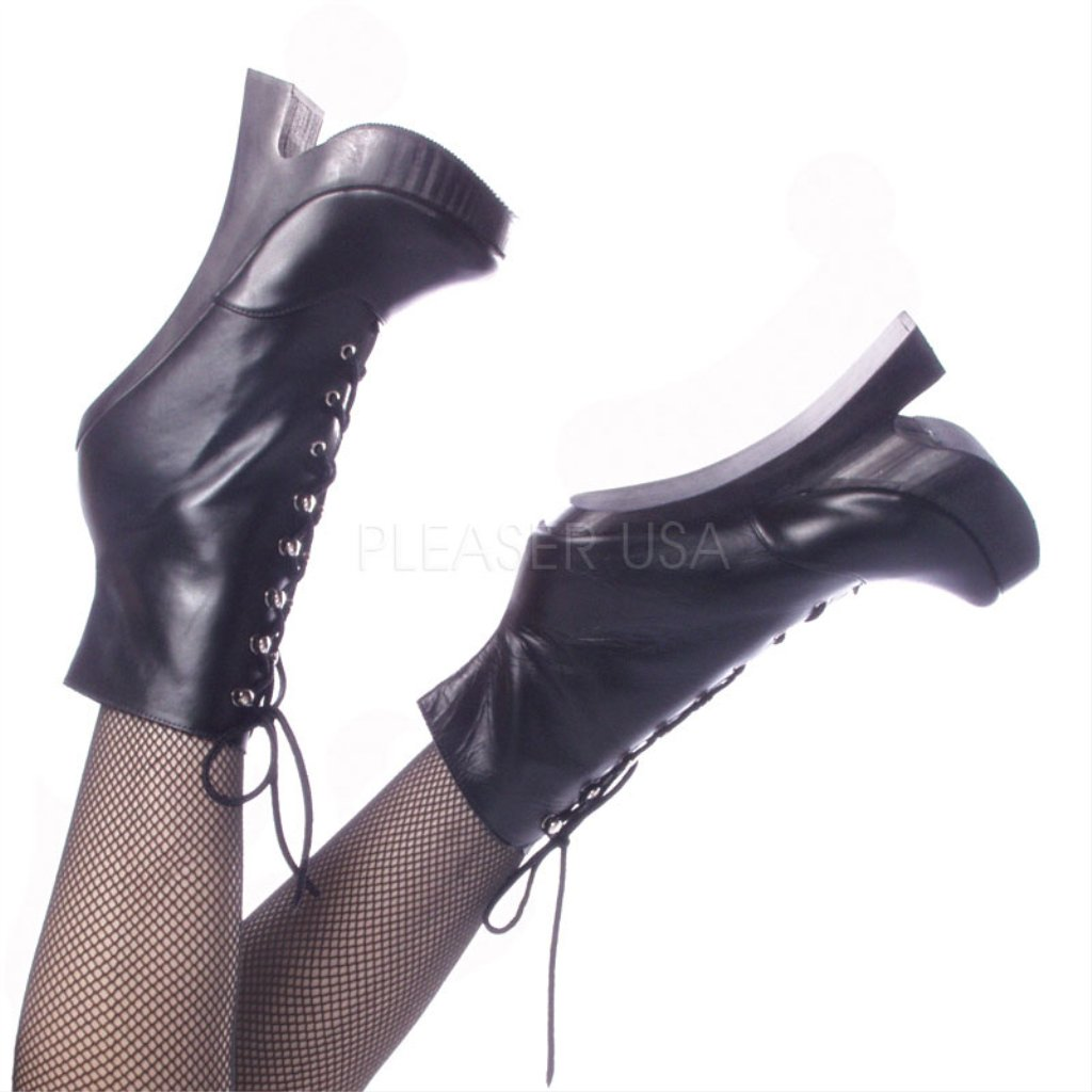 Devious FEMME-1020 Blk Leather UK 3 (EU 36 )