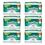 Angel Soft Toilet Paper, 36 Double Rolls, Bath Tissue (pack of 6)