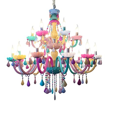 Araña De Cristal Vela Luces Colgantes Vaso Lámparas De ...