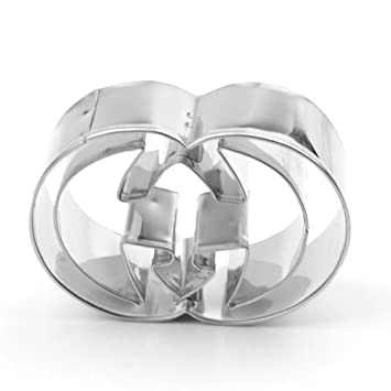 Amazon.com: Stainless Steel Cookie Cutter (Gucci): Kitchen & Dining