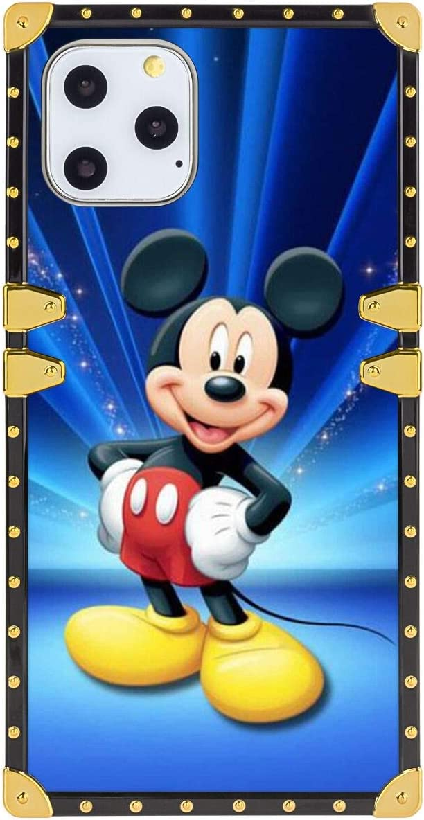 Disney Collection Square Phone Case Iphone 11 Pro Max 6 5 Inch Cell Phone Case Mickey Mouse Wallpaper Hd Amazon Ca Cell Phones Accessories