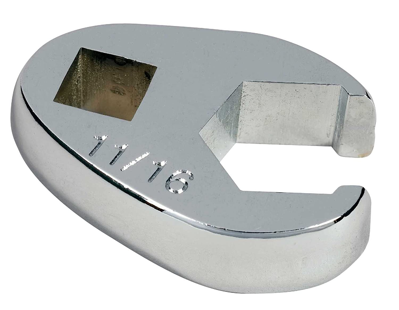 Sunex 970804 3//8 Drive 7//16 Fully Polished Flare Nut Crowfoot Wrench Sunex International